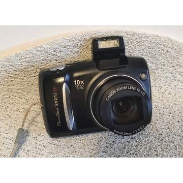 Canon SX120 IS Power Shot aparat cyfrowy 2xAA 10M