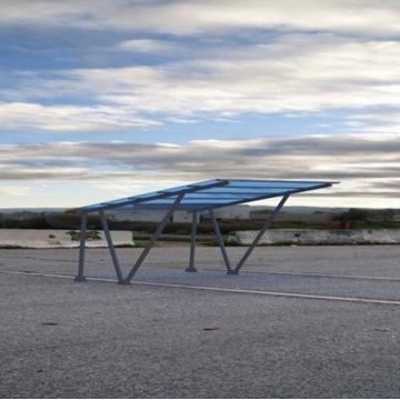 Konstrukcja aluminiowa carport