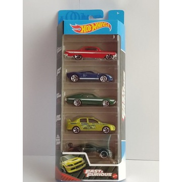 Hot Wheels 5 pack Fast&Furious Lancer 5Pak