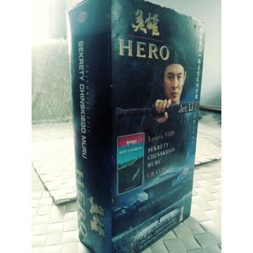 Hero + wydanie specjalne (Jet Li) 2x VHS Vision