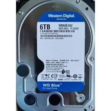 Dysk HDD 6TB WD Blue