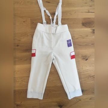 Spodnie szermiercze atestowane FIE