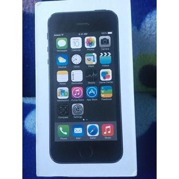 Smartfon Apple iPhone 5s Czarny 16GB+dodatek
