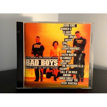 VARIOUS BAD BOYS - MUSIC FROM THE MOTION PICTURE