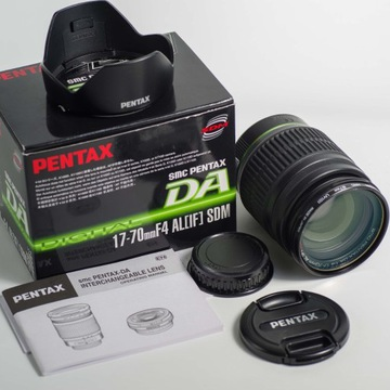 Pentax SMC DA 17-70mm f/4 AL (IF) SDM