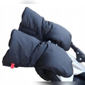 Mufki rękawiczki do wózka sanek