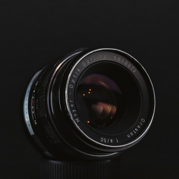 Meyer-Optik ORESTON 50mm f1.8 zebra M42