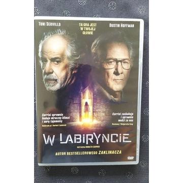 W labiryncie- - Dustin Hoffman - film DVD stan bdb