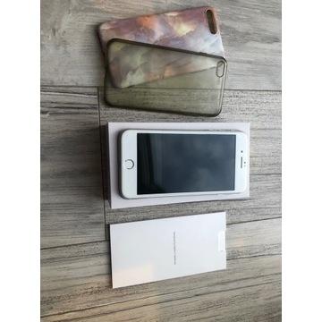 iPhone 8 Plus Silver 64GB CAŁY ZESTAW! Zadbany!