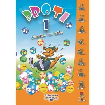 Książki do nauki j.ang dla dzieci 4-5 lat PROTI 1