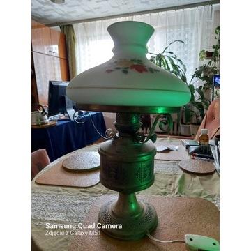 Lampa naftowa/elektryczna, prawie zabytek.