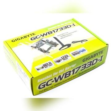 Karta sieciowa wifi/bluetooth GIGABYTE GC-WB1733D