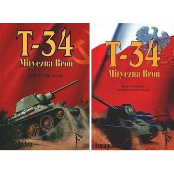 T-34 MITYCZNA BROŃ, 2 tomy