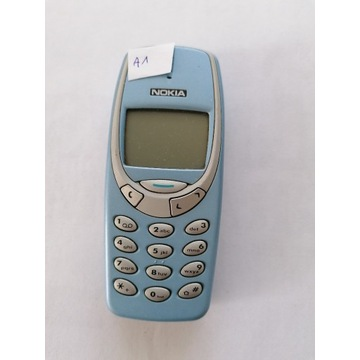 Nokia 3310 błękit, ładna, sprawna, bateria (nr.A1)