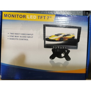 Monitor LCD 7 cali