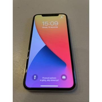 IPHONE X 64 GB biały prawie idealny