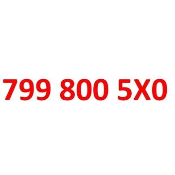 799 800 5X0 starter play złoty numer