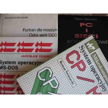 ODRA 1300 George 3  MS-DOS CP/M PC i sieci  5 vol.