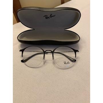 Okulary zerówki Ray Ban.
