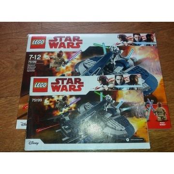Lego Star Wars  75199 Ścigacz generała Grievousa
