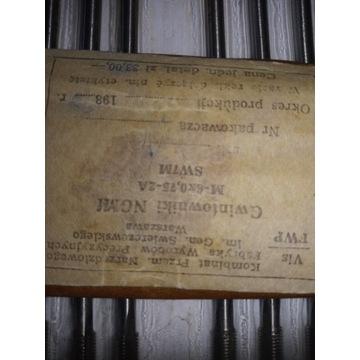 Gwintowniki maszynowe VIS. M 6 x 0.75 -2 A . SW7M