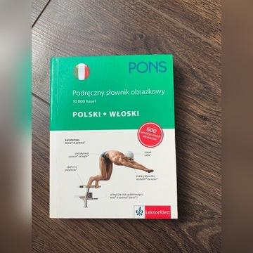Podręczny słownik obrazkowy polski włoski