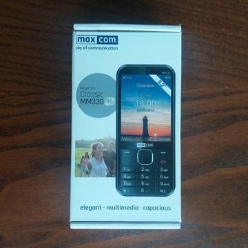 Telefon komórkowy Maxcom Classic MM330 czarny