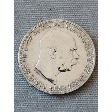 1 korona 1914 Srebro