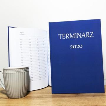 Terminarz Kalendarz 2020 dla max 4 osób