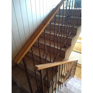 Balustrada na klatkę schodową