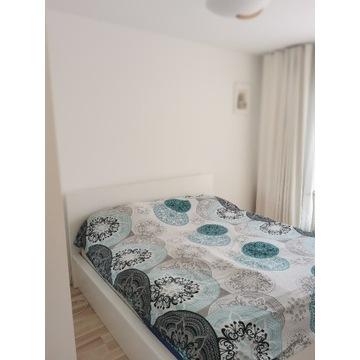 Łóżko Malm Ikea z materacem