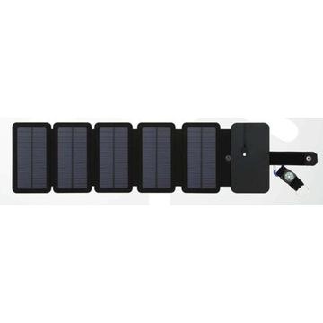Panel solarny fotowoltaiczny składany 10W 5paneli