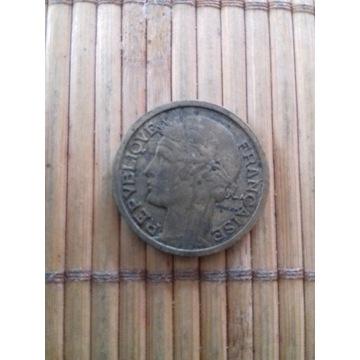 moneta 2 franki 1939 Francja