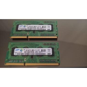 Samsung 2x1GB DDR3 Ram 1333Mhz - M471B2873FHS CH8