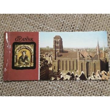 PRL GDAŃSK 1976 pocztówki książeczka