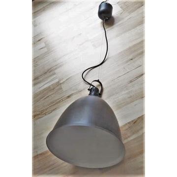 Duża lampa sufitowa nad stół / czarna