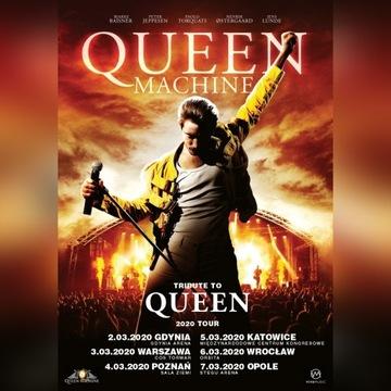 Queen Machine Warszawa 03.03 2 bilety