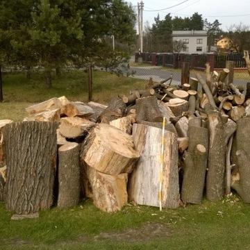 Drewno klonowe (jawor) opałowe, kominkowe ok. 4 m3
