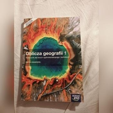 OBLICZA GEOGRAFII 1 PODRĘCZNIK ROZSZERZONY N. ERA
