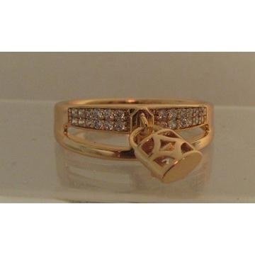 0.585 Złoty pierścionek  Vhernier London