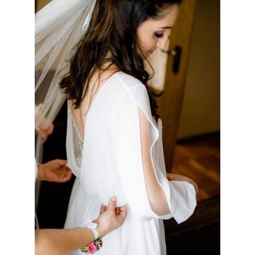 Suknia ślubna i bolerko - cena do negocjacji