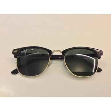 Okulary przeciwsłoneczne Ray Ban clubmaster.