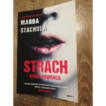 Książka Strach, który powraca Magda Stachula