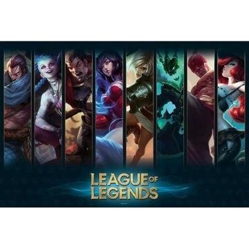 Plakat League of Legends - Champions 61,5x91