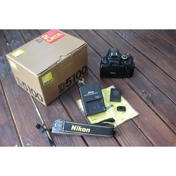 Nikon d5100, Super Stan, Niski Przebieg
