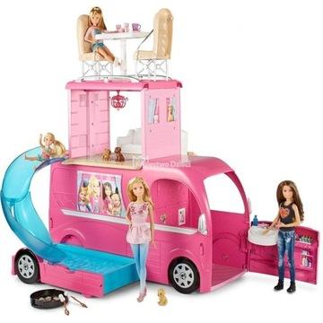 Barbie Mattel kamper rozkładany