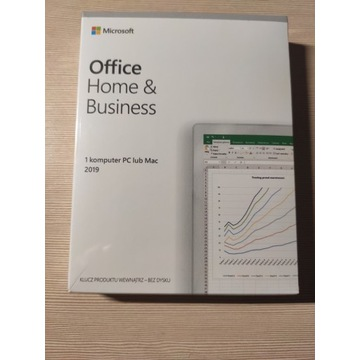 Microsoft Office Home Business 2019 PL BOX PC/MAC