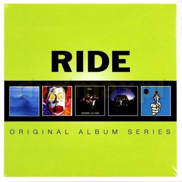 RIDE - ORIGINAL ALBUM SERIES (5xCD) w folii!!!