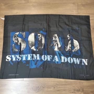 Duża chusta / szarfa System of a Down 2002 z licen