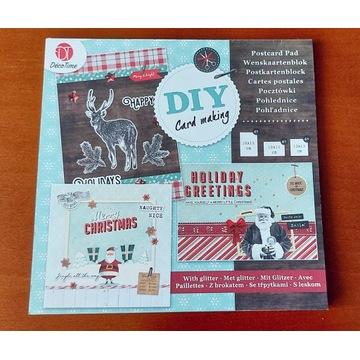 Blok do wykonania kartek die-cuts 3D - świąteczny